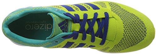 adidas Adizero Feather Pri, Chaussures de Sport Homme Jaune / Turquoise