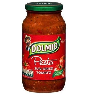 Salsa para pasta de Tomate Seco Pesto de 500gm: Amazon.es: Alimentación y bebidas