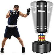 Kitopa Freestanding Punching Bag, 69'' Springy Heavy Bag, Tear-Resistant, Fast Rebound, Long-Term Onsl