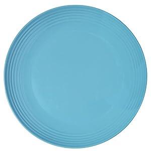 Melange 6-Piece Melamine Dinner Plate Set (Solids Collection)   Shatter-Proof and Chip-Resistant Melamine Dinner Plates 41KbTwYhAUL