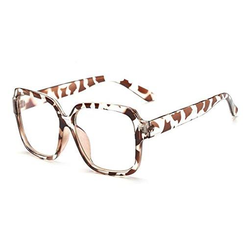 Gafas Leopardo radiación Retro Eyewear Lente Filtro los ojos Claro Moda luz Previniendo Computadora Mujer de Vintage azul Xinvision Hombre Anti xFAwHpY4
