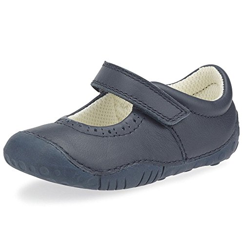 Startrite Cruise Girls Leather Mary Jane Prewalkers Navy 5Fa4s