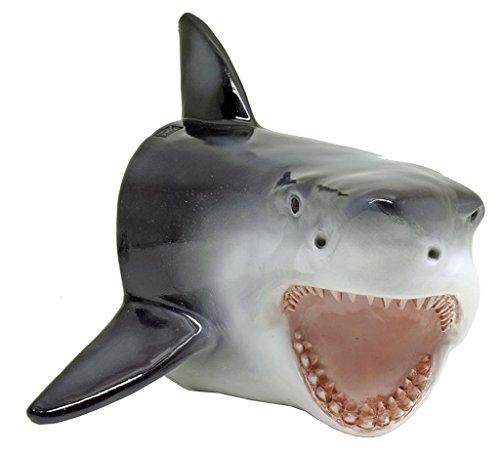 - Large Shark Head Wall Mount Statue Bust -