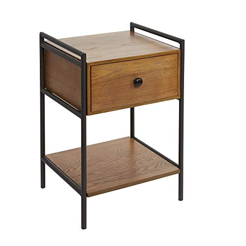 (Silverwood CPFH1142A Side Table, Textured Black)