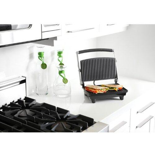 Chefman RJ02 Panini Grill Silver