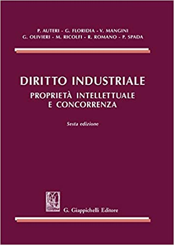 Diritto Industriale Proprietà Intellettuale E Concorrenza 9788892133167 Amazon Com Books