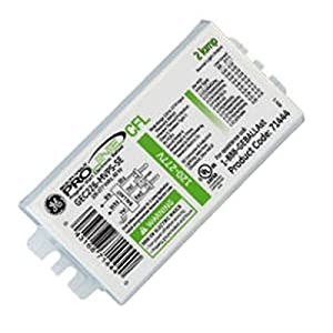 Multi-Volt ProLine Electronic Fluorescent Ballast, 120/277 volt, 54 watt, 2 Lamp, Programmed Start