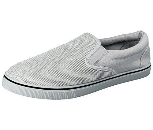 all'abbigliamento ginnastica scarpe 40 47 espadrillas disponibili numeri al Scarpe dal casual a nei White da uomo antiscivolo white mocassino ideali da abbinare modello da ideali 5 0pwqRzZ