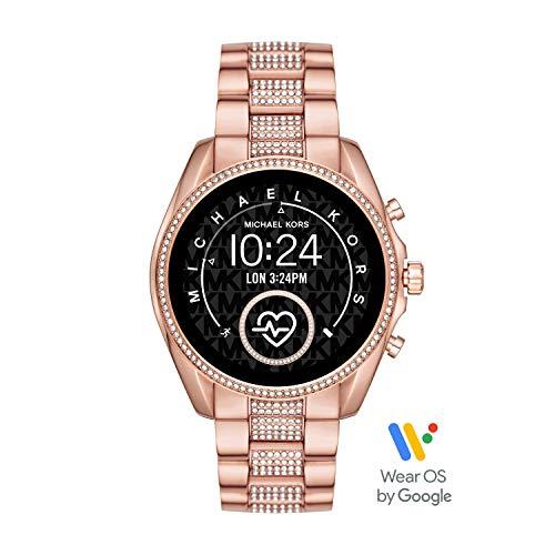 Michael Kors Smartwatch Pantalla táctil para Mujer de Connected con Correa en Acero Inoxidable MKT5089