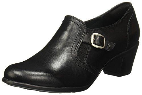 Flexi 15406 Zapatos de Tacón para Mujer, Color Negro, 25