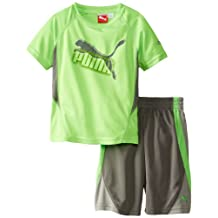 PUMA Little Boys' Maze Cat T-Shirt