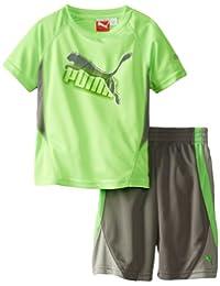 PUMA Little Boys' Maze Cat T-Shirt