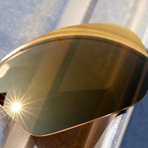 — Múltiples Polarizados Rb4253 De Ray Opciones Lentes Mirrorshield Para Elite Ban Repuesto Dorado 6np68qYz