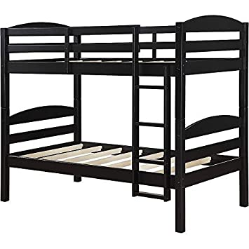 official photos a0ef0 90b23 Amazon.com: Mainstays` Twin Over Twin Wood Bunk Bed (Twin ...