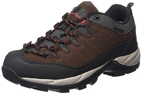 Gola  Aberdare Low,  Herren Trekking- & Wanderhalbschuhe , Braun - Brown (Dark Brown/Black/Red) - Größe: 43