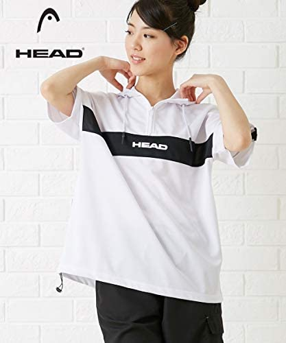 [nissen(ニッセン)] シャツ 洗濯機洗いOK シャツ 洗濯機洗いOK スポーツウェア・フィットネスウェア HEAD UV・吸汗速乾半袖パーカー
