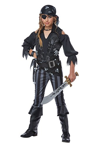 (Rebel Pirate Girls Costume)
