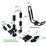Leader Accessories Folding Kayak Rack