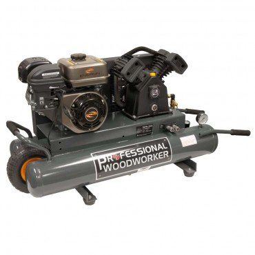 Professional Woodworker 9528 6.5 HP Gas Powered Air Compressor