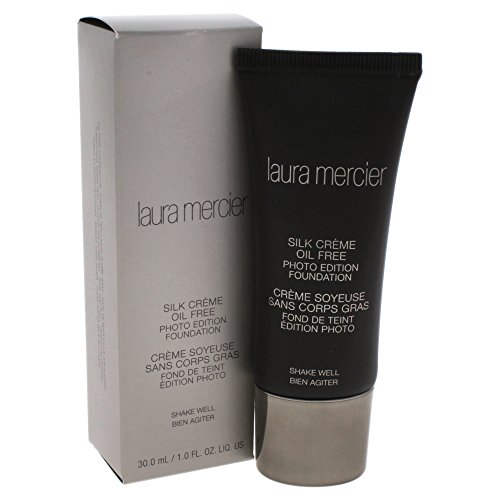 Laura Mercier Silk Creme Oil-free Photo Edition Foundation for Women, Cream Ivory, 1 ()