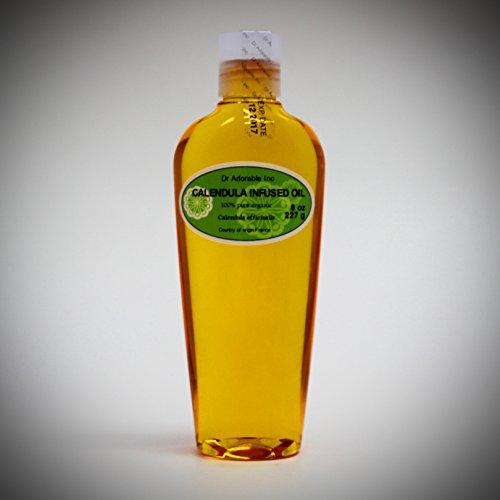 Calendula Oil - 8 Oz Organic Calendula Infused Oil 100% Pure
