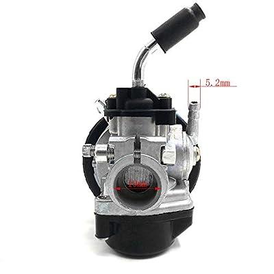Carb Carburetor Air Filter Assembly Replacement for 49cc 50cc 60CC 66CC 70cc 80cc 2 Stroke Engine Rcooter Motorized Bicycle,Mini Pocket Bike,Quad Chopper ATV: Automotive