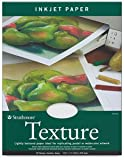Strathmore 80-Pound 25-Sheets Inkjet Paper Texture, 8.5 x 11 Inches (412111
