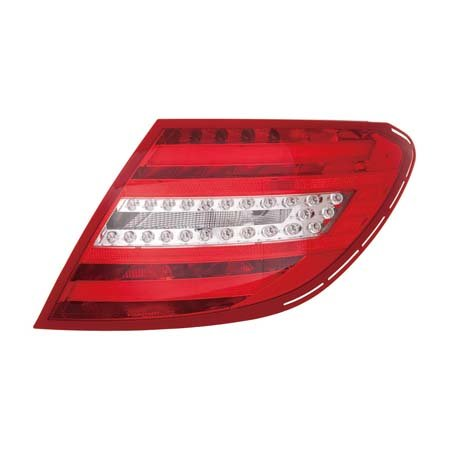 Mercedes Benz C Class Sedan/Coupe 2012-2014 Tail Light Assembly LED Type Driver Side