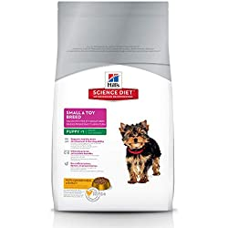 Hill's Science Diet Puppy Small Paws Chicken Meal, Barley & Brown Rice Recipe Dry Dog Food, 4.5 lb bag