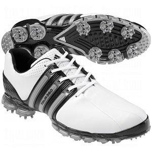 adidas (tour 360 uomini scarpe da golf, bianco / nero