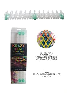 Anadel Investment  - Kit montaje pulseras krazy looms bandz set