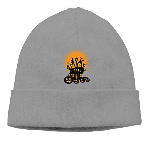 ElishaJ Unisex Halloween Beanie Cap Hat Ski Hat Cap Skull Cap DeepHeather (Halloween Jon Bellion)