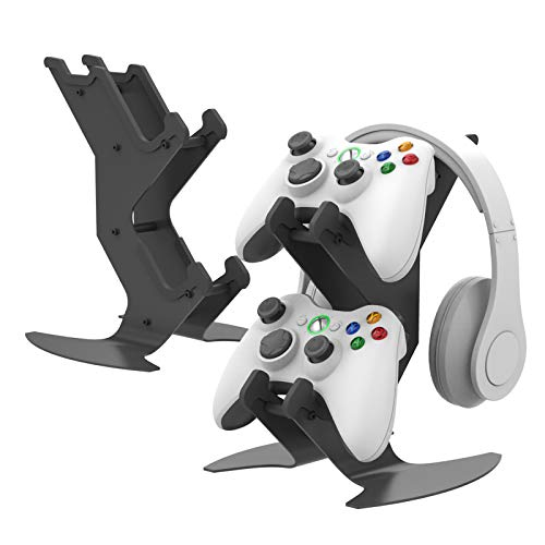 Game Controller Stand,Desk headset controller mount for Xbox360 ,PS5, PS4,NS, Xbox Sereis X - universial Stand for Gamepad Cable Headphones mobile phones