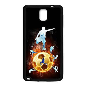Canting_Good Soccer hot play sports Custom Case Shell Skin for Samsung Galaxy Note 3 (Laser Technology)