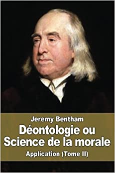 Book Déontologie ou Science de la morale: Application (Tome II): 2