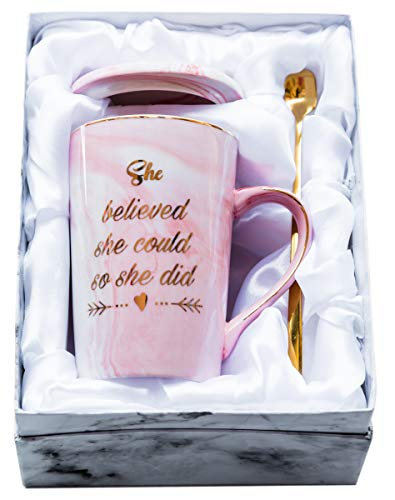 Mugpie She Believed She Could So She Did Coffee Mug – Congratulations Graduation Gifts for Her Women Girl Daughter…