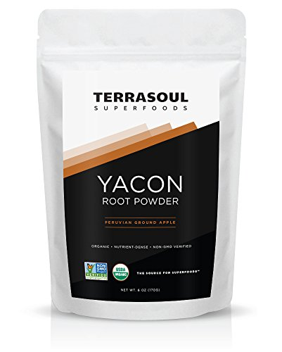 Terrasoul Superfoods Organic Yacon Root Powder, 6-ounce