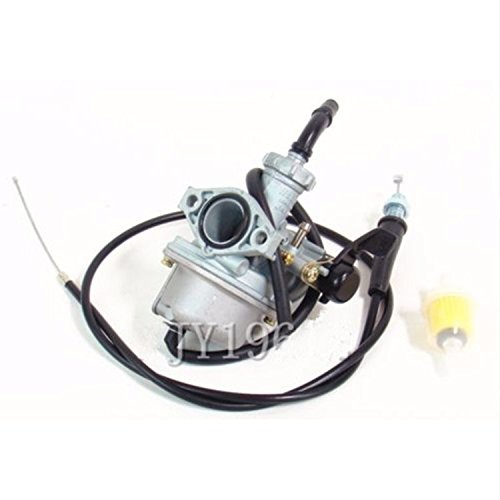 22mm Carburetor & Throttle Cable Fits Honda CRF70F XR70R Carb(48mm mounting hole spacing)