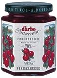 Darbo Naturrein Fruchtreich Konfitüre - Wildpreiselbeer - 6 x 200 g