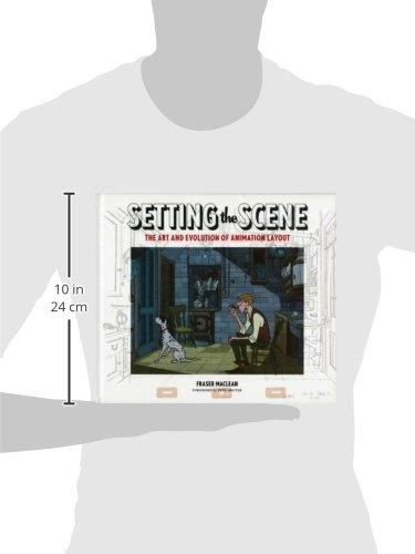 Setting the Scene 2011 Fraser MacLean Chronicle Books 0811869873 Animated films The Art /& Evolution of Animation Layout Hardcover Technique November 16