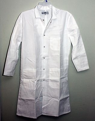 cfc121ac9 Amazon.com   Men s White medical Lab Coat Cintas NEW size 5XL   Everything  Else