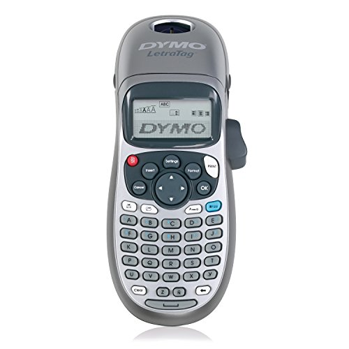 DYMO LetraTag LT-100H Handheld Label Maker for Office or Home (1749027), Colors May ()