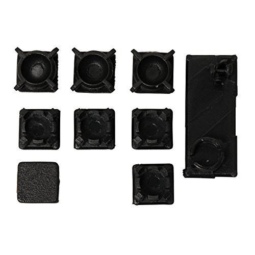(Screw Feet Cover Kit Rubber Boot Pad Replacement for Sony PS3 Slim 2000 3000 Console( Pack of 9 ))