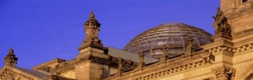 Posterazzi PPI70270S Glass Dome Reichstag Berlin Germany Poster Print 18 x 6