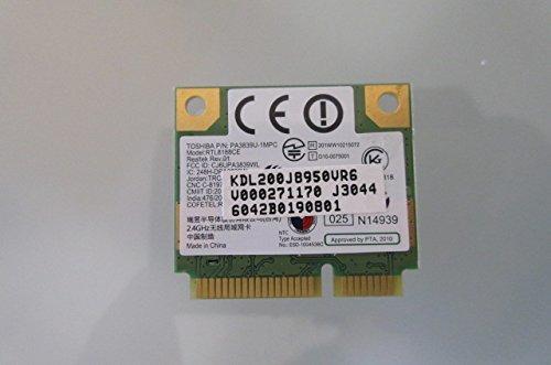 wifi RTL8188CE wireless card for Toshiba Satellite Satellite C855-S5133 Notebook New Genuine