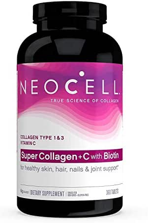 NeoCell Super Collagen (Types 1 & 3) + C + Biotin (360ct.) 2 Pack