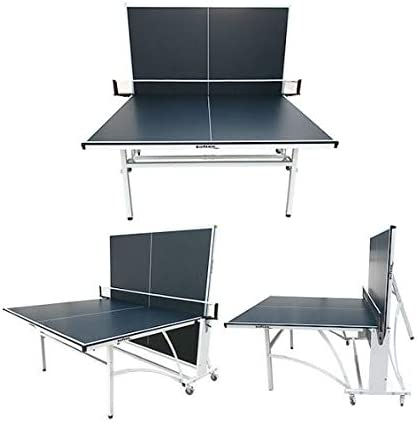 Softee Equipment Mesa Tenis de Mesa Exterior Siloli Negro