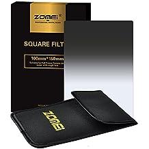 Zomei Gradual Grey Graduated Neutral Density ND8 Square Z-PRO Series Filter for Cokin Z zomei Hitech 4X6 Holder 150100 mm