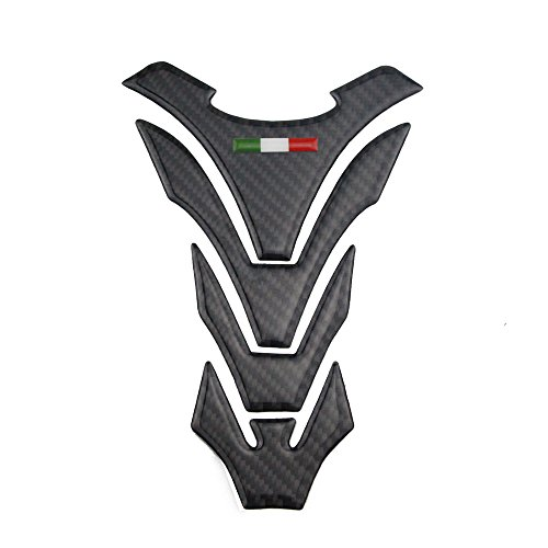 PRO-KODASKIN Real Carbon Tank Pad Sticker Decal Emblem for Ducati All Model
