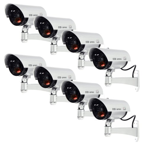 3. Masione Outdoor Fake / Dummy Security Camera/ CCTV Surveillance